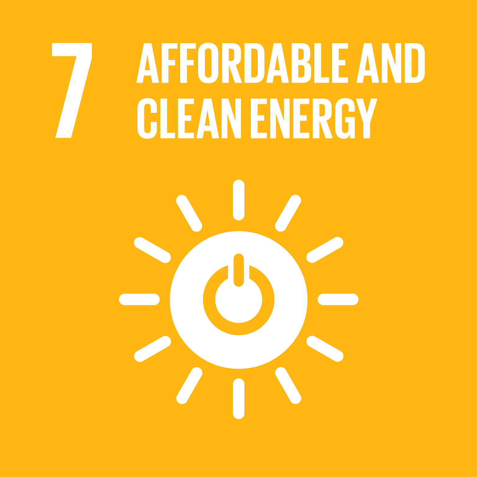 affordable and clean energy icon